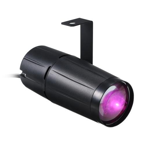 AC90-240V 10W LED Mini Beam Spot Stage Light