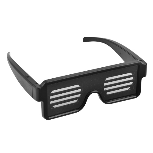 LED Red Light Glasses Luminous Glasses