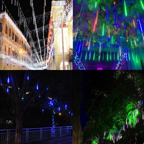 Meteor Shower Rain LED Light String AC 100-240V To DC 5V 20cm 8 Tubes Falling Snow Strip Fairy Romantic New Year Holiday ChristmasHome &amp; Garden<br>Meteor Shower Rain LED Light String AC 100-240V To DC 5V 20cm 8 Tubes Falling Snow Strip Fairy Romantic New Year Holiday Christmas<br>