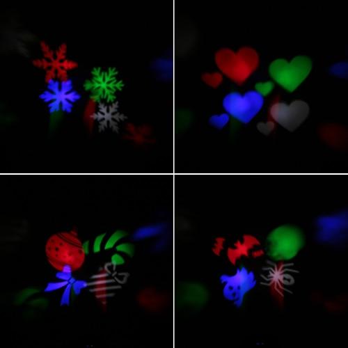 4W Mini LED RGB Gobo Light Projectior Effect Stage LampHome &amp; Garden<br>4W Mini LED RGB Gobo Light Projectior Effect Stage Lamp<br>