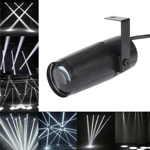5W LED White Beam Spotlight Stage LightingHome &amp; Garden<br>5W LED White Beam Spotlight Stage Lighting<br>