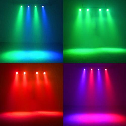 24W AC90-240V 24 LEDs RGB Flat Par Light Channel 1/2/3/4/5/6/7 Stage Effect Light DMX 512/ Sound Activated/ Master Slave/ Auto RunHome &amp; Garden<br>24W AC90-240V 24 LEDs RGB Flat Par Light Channel 1/2/3/4/5/6/7 Stage Effect Light DMX 512/ Sound Activated/ Master Slave/ Auto Run<br>