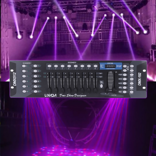 Lixada 192 Channels DMX512 Controller Console for Stage LightHome &amp; Garden<br>Lixada 192 Channels DMX512 Controller Console for Stage Light<br>
