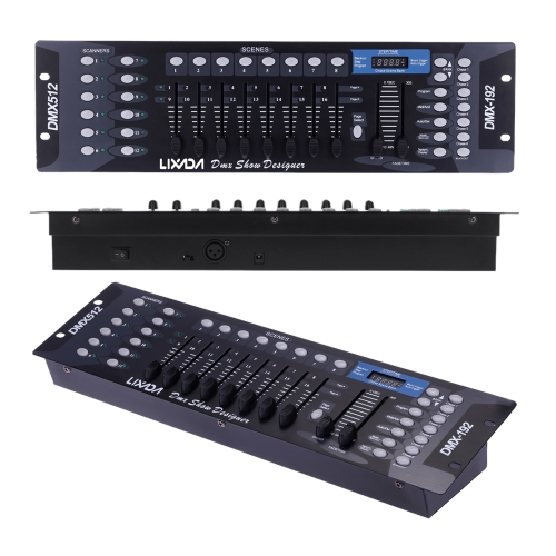 Lixada 192 Channels DMX512 Controller Console for Stage Light
