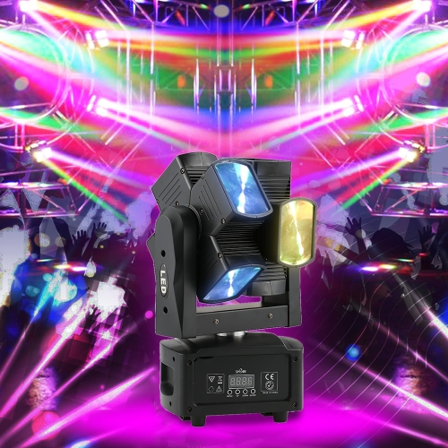 Tomshine 120W 8LEDs Double Wheel RGBW Head Moving Beam Stage LightHome &amp; Garden<br>Tomshine 120W 8LEDs Double Wheel RGBW Head Moving Beam Stage Light<br>