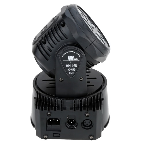 75W 5 LED DMX512 Sound Control Auto Rotating 10 / 15 Channels Colors Changing Moving Head Light RGBW Stage Wash LampHome &amp; Garden<br>75W 5 LED DMX512 Sound Control Auto Rotating 10 / 15 Channels Colors Changing Moving Head Light RGBW Stage Wash Lamp<br>