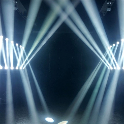 35W DMX512 Sound Control Auto Rotating 9 / 11 Channels Rainbow 8 Colors Changing Head Moving Light LED Stage Gobo Pattern Lamp forHome &amp; Garden<br>35W DMX512 Sound Control Auto Rotating 9 / 11 Channels Rainbow 8 Colors Changing Head Moving Light LED Stage Gobo Pattern Lamp for<br>