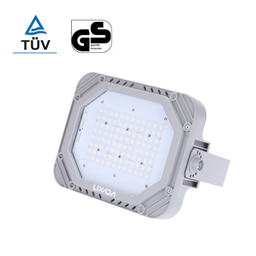 Lixada TUV Certification 200-240V 80W 9200LM High Bright IP66 Water Resistant White LED Flood Light Spotlight Security Lamp for GaHome &amp; Garden<br>Lixada TUV Certification 200-240V 80W 9200LM High Bright IP66 Water Resistant White LED Flood Light Spotlight Security Lamp for Ga<br>