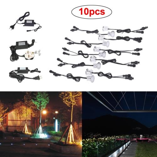 10PCS 0.6W 500LM SMD2835 32mm LED Deck SpotlightsHome &amp; Garden<br>10PCS 0.6W 500LM SMD2835 32mm LED Deck Spotlights<br>