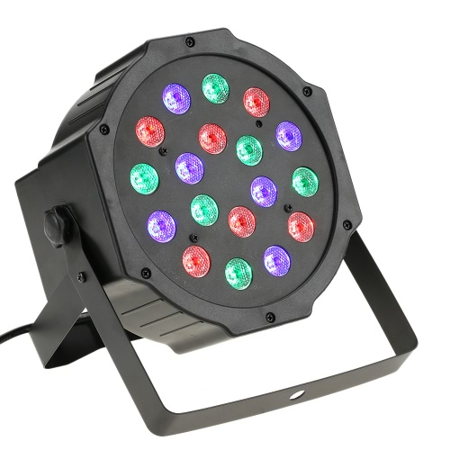 18LED 18W 6Channel Remote Control Mini PAR Light RGB Wash Effect Stage Lamp Support DMX512 Sound Activation for Wedding Party DJ BHome &amp; Garden<br>18LED 18W 6Channel Remote Control Mini PAR Light RGB Wash Effect Stage Lamp Support DMX512 Sound Activation for Wedding Party DJ B<br>