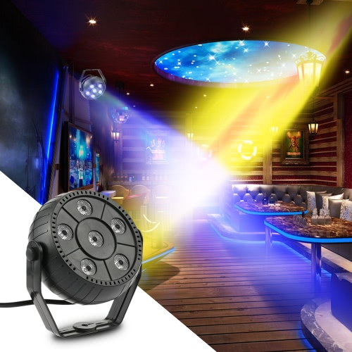 Mini 13W 6 LEDs RGB 3 in 1 Wash Effect Stage Par LightHome &amp; Garden<br>Mini 13W 6 LEDs RGB 3 in 1 Wash Effect Stage Par Light<br>