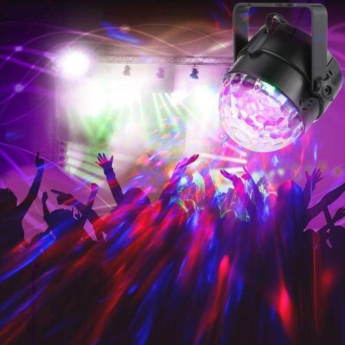 3W Mini RGB Water Wave Ripple Effect LED Stage Light Lamp 7 Colors Support Sound Activation Auto IR Remote Controller for KTV PartHome &amp; Garden<br>3W Mini RGB Water Wave Ripple Effect LED Stage Light Lamp 7 Colors Support Sound Activation Auto IR Remote Controller for KTV Part<br>