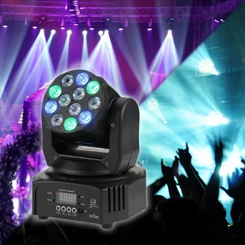 Tomshine 40W 12 LED RGBW洗濯効果移動ヘッドステージライト