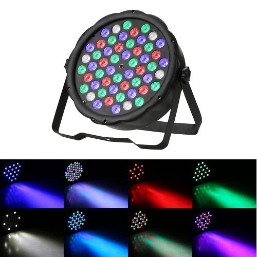 70W 54LEDs RGBW Plastic Flat Stage Par LightHome &amp; Garden<br>70W 54LEDs RGBW Plastic Flat Stage Par Light<br>