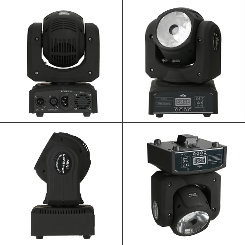 Tomshine Total Power 70W LED RGBW 10/13 Channels Moving Head Lamp Stage Beam Light DMX512 Master-slave Auro-run Sound for DJ ShowHome &amp; Garden<br>Tomshine Total Power 70W LED RGBW 10/13 Channels Moving Head Lamp Stage Beam Light DMX512 Master-slave Auro-run Sound for DJ Show<br>