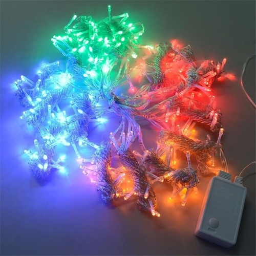 110V/220V 3*2M 224Pcs Colorful Curtain LED Icicle String Lights Battery Operated Christmas Fairy Lights Outdoor Home for Wedding PHome &amp; Garden<br>110V/220V 3*2M 224Pcs Colorful Curtain LED Icicle String Lights Battery Operated Christmas Fairy Lights Outdoor Home for Wedding P<br>
