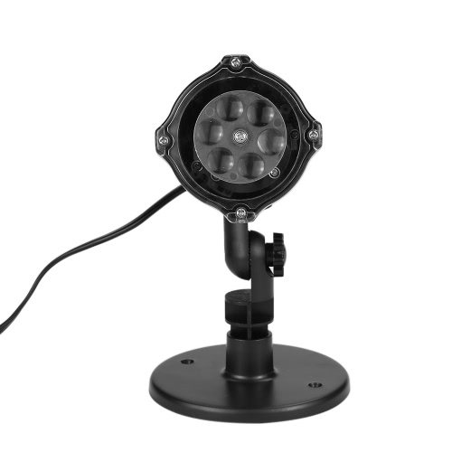 4 LEDs Moving Snowflake Projector LampHome &amp; Garden<br>4 LEDs Moving Snowflake Projector Lamp<br>