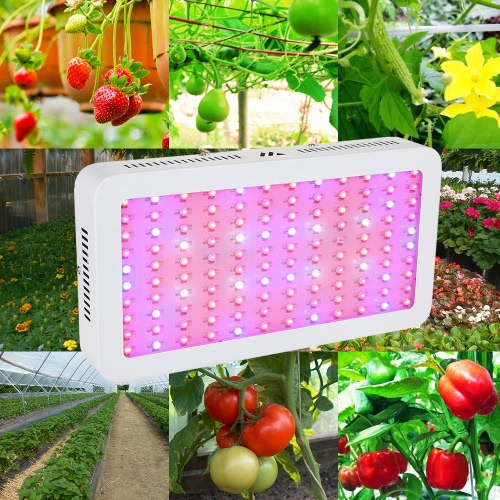 1200W 120LEDs 7601LM Plant Grow Light Double Chip Full Spectrum Growth Lamp for Indoor Greenhouse FlowersHome &amp; Garden<br>1200W 120LEDs 7601LM Plant Grow Light Double Chip Full Spectrum Growth Lamp for Indoor Greenhouse Flowers<br>