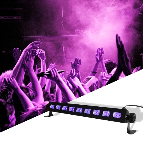 27W High Brightness Black Light UV Purple LED Bar with 9LED*3W Gig Party Flourscent Halloween Christmas Decorations in Metal HousiHome &amp; Garden<br>27W High Brightness Black Light UV Purple LED Bar with 9LED*3W Gig Party Flourscent Halloween Christmas Decorations in Metal Housi<br>