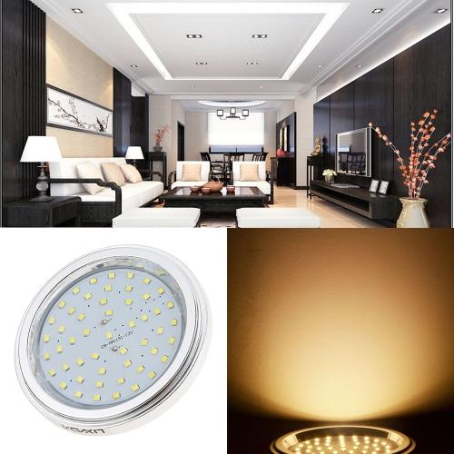 Lixada G53 Bulb 12V 7W 51 SMD2835 Epistar LEDs 600LM AR111 Decorative LED Spotlight WhiteHome &amp; Garden<br>Lixada G53 Bulb 12V 7W 51 SMD2835 Epistar LEDs 600LM AR111 Decorative LED Spotlight White<br>