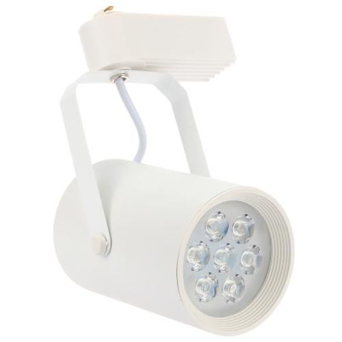 7W LED Track Rail Light Spotlight Adjustable for Mall Exhibition Office Use AC85- 265VHome &amp; Garden<br>7W LED Track Rail Light Spotlight Adjustable for Mall Exhibition Office Use AC85- 265V<br>