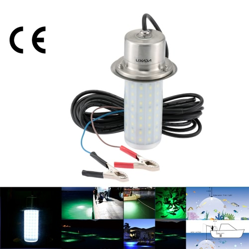 Lixada 12V 50W IP68 0-30m Water Resistant LED Lure Light Underwater Fish Attractor Lamp for Sea Lake Night FishingHome &amp; Garden<br>Lixada 12V 50W IP68 0-30m Water Resistant LED Lure Light Underwater Fish Attractor Lamp for Sea Lake Night Fishing<br>