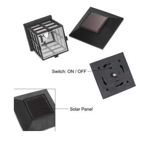 Solar Powered LED Lantern 0.2W 10LM Light Sensing Rechargeable IP55 Water-resistant Garden Landscape Yard Lawn Balcony Outdoor UseHome &amp; Garden<br>Solar Powered LED Lantern 0.2W 10LM Light Sensing Rechargeable IP55 Water-resistant Garden Landscape Yard Lawn Balcony Outdoor Use<br>
