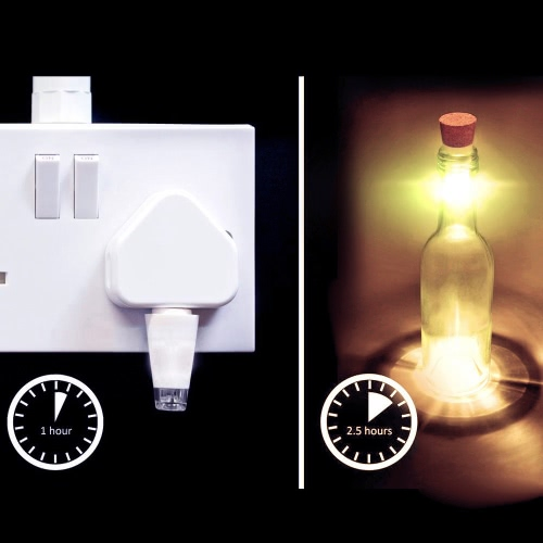 Hexagon Cork Shaped Rechargeable USB LED Night LightHome &amp; Garden<br>Hexagon Cork Shaped Rechargeable USB LED Night Light<br>