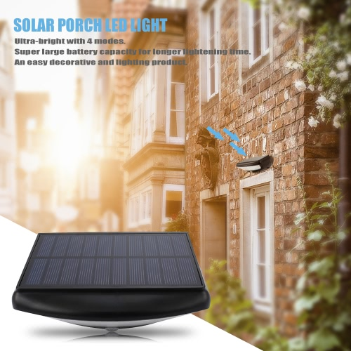 Solar Porch Lights 36 LED Wireless Waterproof Outdoor Motion Sensor Security Lights 4 Modes Wall Lamps for Step Stairs Patio PorchHome &amp; Garden<br>Solar Porch Lights 36 LED Wireless Waterproof Outdoor Motion Sensor Security Lights 4 Modes Wall Lamps for Step Stairs Patio Porch<br>