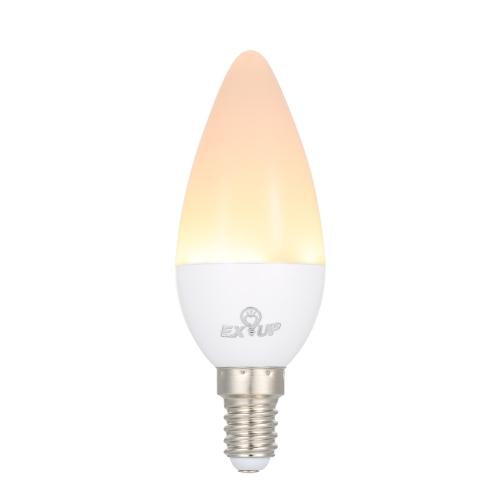 5W C37 E14 LED Candle Shape Light Bulb