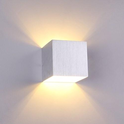 AC85-265V 3W LED مصباح الجدار المربع