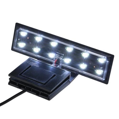 AC220V 5W 12 LED水族館ライトフィッシュジャーランプ