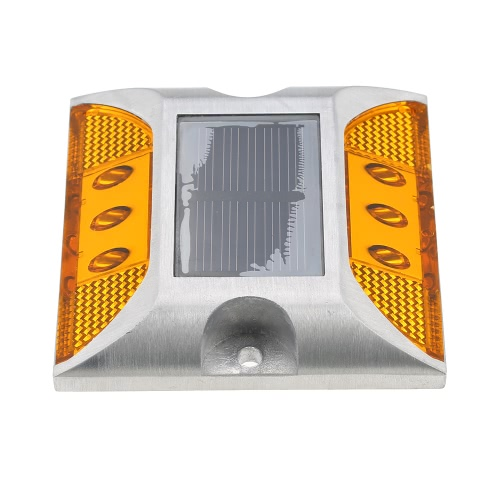 2W 6 LED Solar Powered Driveway Lamp Light Control Good Bearing Capacity IP68 Waterproof Road Warning Lamp for Street Avenue HighwHome &amp; Garden<br>2W 6 LED Solar Powered Driveway Lamp Light Control Good Bearing Capacity IP68 Waterproof Road Warning Lamp for Street Avenue Highw<br>