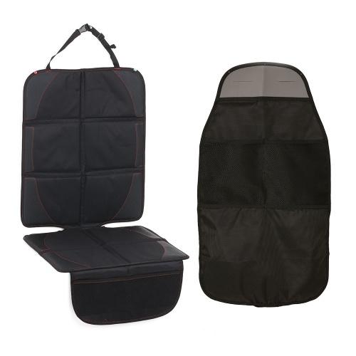 Car Seat Protector + Kick Mat Seat Back Protectors