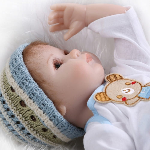 16inch 41cm Silicone Reborn Toddler Baby Doll Girl Body Boneca With Clothes Brown Eyes Lifelike Cute Gifts ToyHome &amp; Garden<br>16inch 41cm Silicone Reborn Toddler Baby Doll Girl Body Boneca With Clothes Brown Eyes Lifelike Cute Gifts Toy<br>
