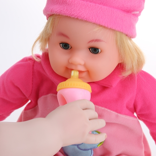 45cm/17.7in  Twins Talking Singing Baby Doll Reborn Touch Doll Play House Early Education Toys Gift BonecaHome &amp; Garden<br>45cm/17.7in  Twins Talking Singing Baby Doll Reborn Touch Doll Play House Early Education Toys Gift Boneca<br>