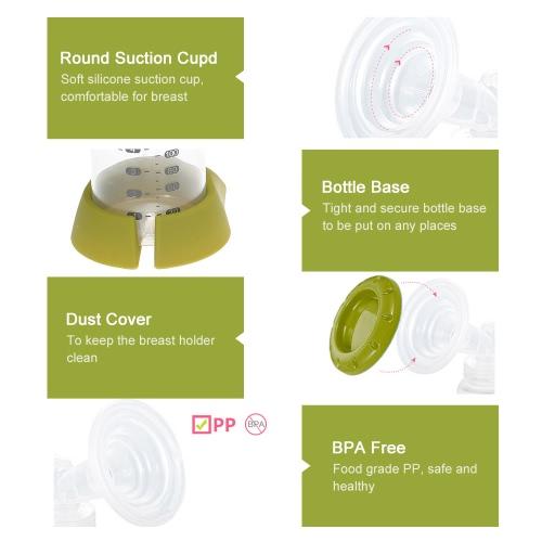 Nibble Electric LCD Breast Pump Breastmilk Pump US PlugHome &amp; Garden<br>Nibble Electric LCD Breast Pump Breastmilk Pump US Plug<br>