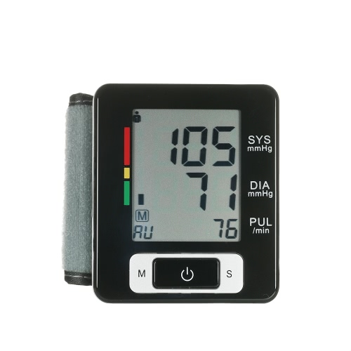 AlphaMed Clinical LCD Automatic Wrist Blood Pressure MonitorHealth &amp; Beauty<br>AlphaMed Clinical LCD Automatic Wrist Blood Pressure Monitor<br>