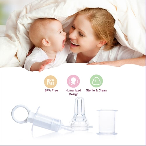 Baby Liquid Medicine  Dispenser Medicine Oral Syringe Dropper Feeding Device With Silicon Pacifier For Baby InfantHome &amp; Garden<br>Baby Liquid Medicine  Dispenser Medicine Oral Syringe Dropper Feeding Device With Silicon Pacifier For Baby Infant<br>
