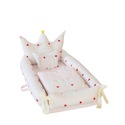 Crown Baby Crib per letto