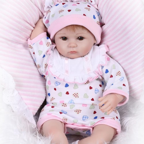 Reborn Baby Doll Girl Baby Bath Toy Silicone Body Eyes Open With Clothes 16inch 40cm Lifelike Cute Gifts Toy GirlHome &amp; Garden<br>Reborn Baby Doll Girl Baby Bath Toy Silicone Body Eyes Open With Clothes 16inch 40cm Lifelike Cute Gifts Toy Girl<br>