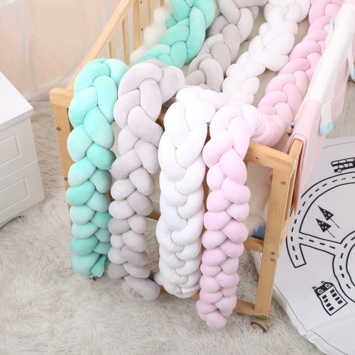 Handmade Long Knotted Braid Pillow Baby Calm Sleep Knot Ball Babys Room Decoration Kids Sleeping Back Cushion Pink 1.5mHome &amp; Garden<br>Handmade Long Knotted Braid Pillow Baby Calm Sleep Knot Ball Babys Room Decoration Kids Sleeping Back Cushion Pink 1.5m<br>