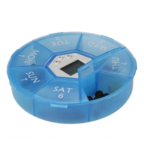 Decdeal Smart Timing Reminder Pill Box  clean and easy to store pillsHealth &amp; Beauty<br>Decdeal Smart Timing Reminder Pill Box  clean and easy to store pills<br>