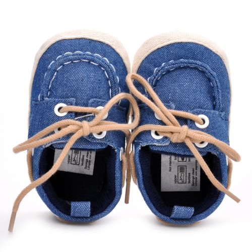 New Baby Newborn Shoes Unisex Soft Cotton Shoes Tying for Baby Learn to Walk at AutumnHome &amp; Garden<br>New Baby Newborn Shoes Unisex Soft Cotton Shoes Tying for Baby Learn to Walk at Autumn<br>