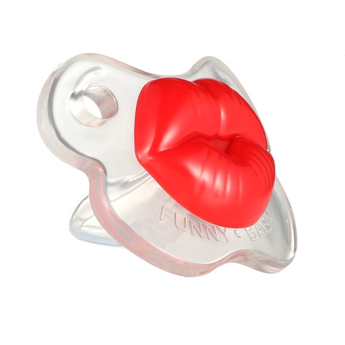 Funny Kissable Pacifier Silicone Pacifier BPA Free for Baby Infant NewbornHome &amp; Garden<br>Funny Kissable Pacifier Silicone Pacifier BPA Free for Baby Infant Newborn<br>