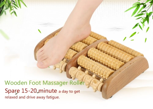 Wooden Foot Massager Rollers accelerate blood pressure relief fatigue muscle &amp; heel pain plantar fasciitisHealth &amp; Beauty<br>Wooden Foot Massager Rollers accelerate blood pressure relief fatigue muscle &amp; heel pain plantar fasciitis<br>