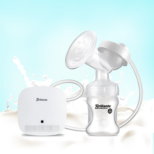 Haierbaby Brillante Electric Breast Pump Portable Single Automatic Mute Breast Massage Milk Suction with USB and Pacifier for BabyHome &amp; Garden<br>Haierbaby Brillante Electric Breast Pump Portable Single Automatic Mute Breast Massage Milk Suction with USB and Pacifier for Baby<br>