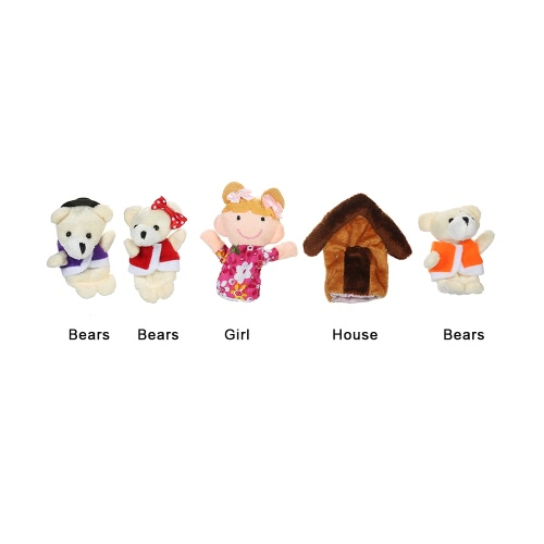 Finger Puppets Story Time Educational Puppet Set Cartoon Fairy Tale Puppets Set for Children Shows Playtime Schools Farmer and AniHome &amp; Garden<br>Finger Puppets Story Time Educational Puppet Set Cartoon Fairy Tale Puppets Set for Children Shows Playtime Schools Farmer and Ani<br>