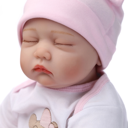 22inch 55cm Reborn Toddler Baby Doll Girl PP filling Silicon Sleeping Doll Boneca With Clothes Lifelike Cute Gifts ToyHome &amp; Garden<br>22inch 55cm Reborn Toddler Baby Doll Girl PP filling Silicon Sleeping Doll Boneca With Clothes Lifelike Cute Gifts Toy<br>