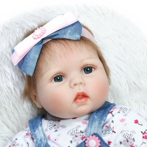 22inch 55cm Reborn Toddler Baby Doll Girl PP Cotton Filling Body Boneca With Clothes Lifelike Cute Gifts ToyHome &amp; Garden<br>22inch 55cm Reborn Toddler Baby Doll Girl PP Cotton Filling Body Boneca With Clothes Lifelike Cute Gifts Toy<br>